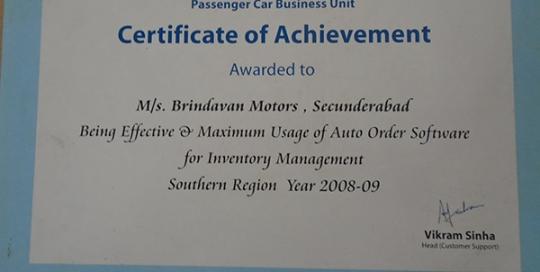 Certificate-Of-Achievements